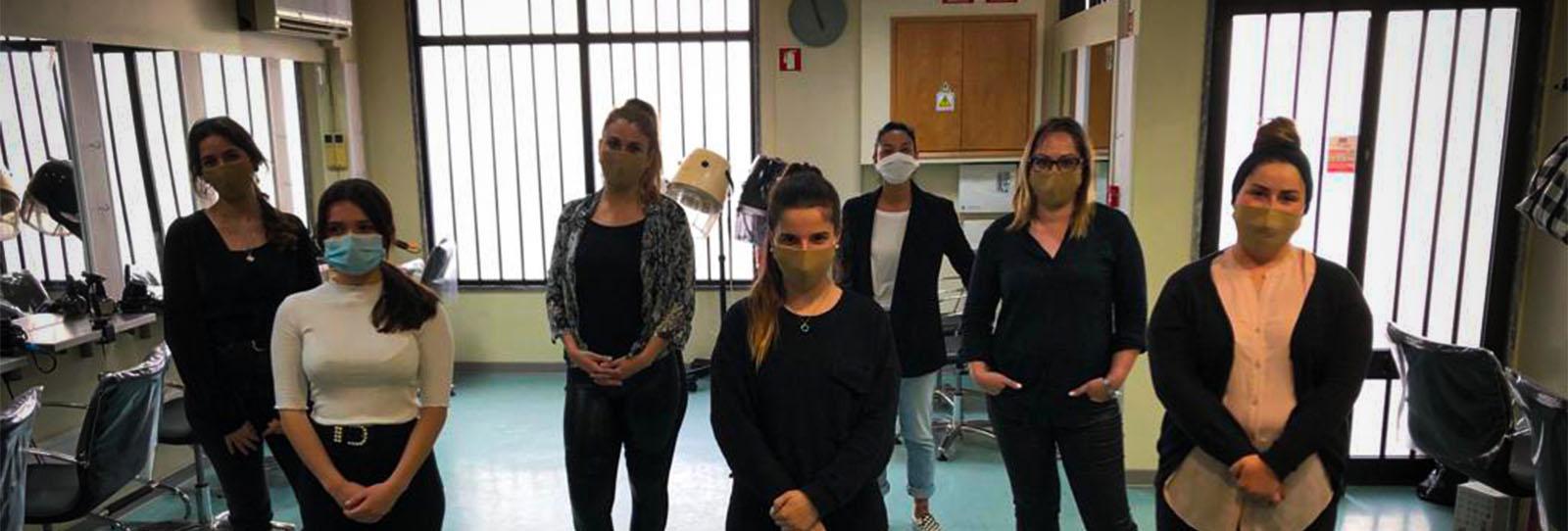 Parabéns às novas Cabeleireiras formadas na nossa Academia